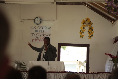 Arthur Preaching