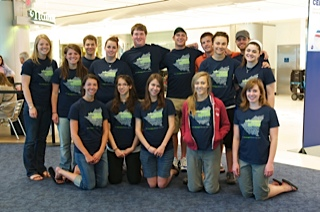 The Team at the Airport
