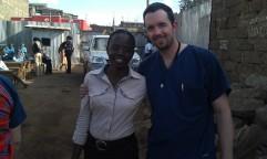 """Lynn, the Bondeni Center Manager, and """"Dr. Graham"""" -- Sept 2012"""