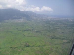 Haiti from the air