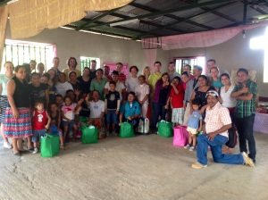 Young Adults from TPCC with church leaders in Nicaragua